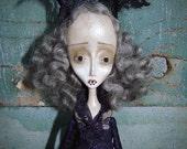 RESERVED Lucinda - Gothic Victorian Vampire Art Doll by Evelyn's Wonderland