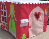 The Princess' Royal Castle Card Table Playhouse, Personalized, Custom Order