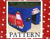Fire Station Card Table Playhouse Sewing Pattern, Add On, Extensive eBook pattern, Instant Download