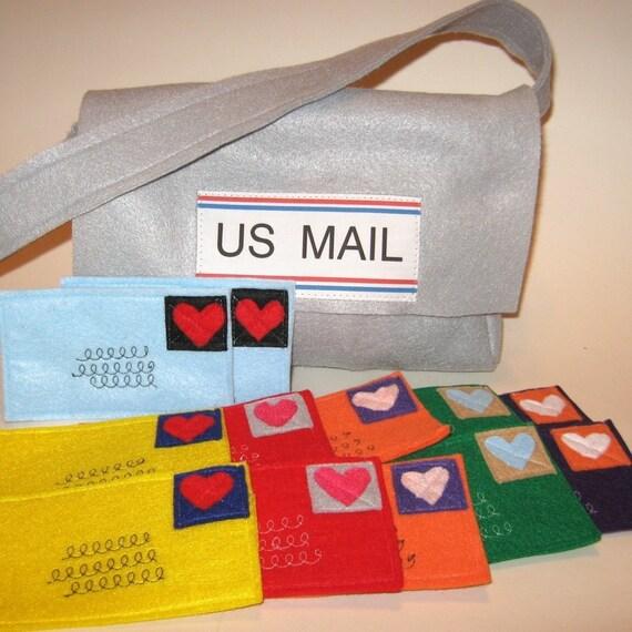 Felt Mail bag (only), Custom Order