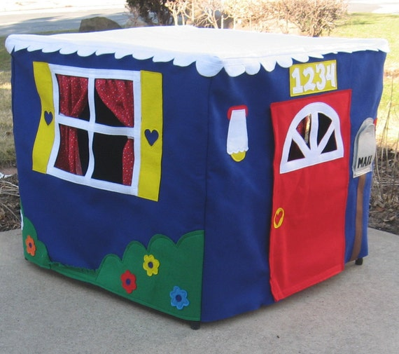 Card Table Playhouse, Toy, Eco Friendly, Custom Order