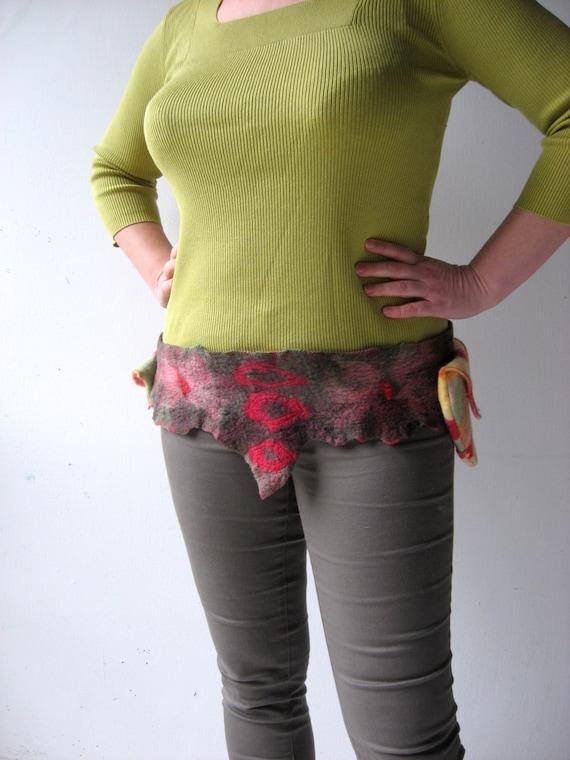 Felted Faerie Pocket Hip  Belt