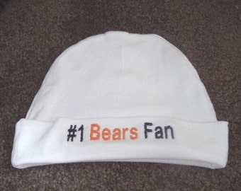 Chicago Bears  NFL Football Baby Infant Newborn Hat Beanie  Hat Cap
