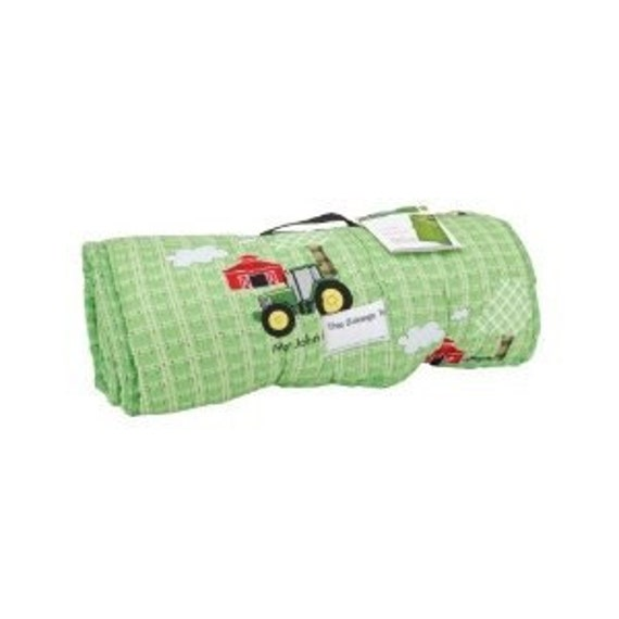 Personalized Boys Girls John Deere Napmat Nap Mat With
