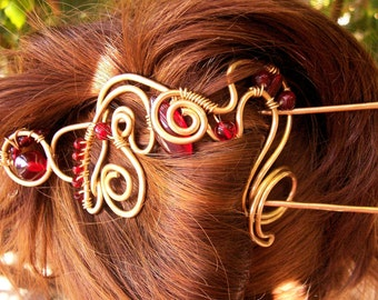 Wirework  Hair Clip  PRICE is APPRO  Custom Made to  Order.