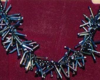 Spikey  Purcupine Necklace