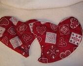 Flaxseed Packs, Heart shape, SALE .....9 dollars