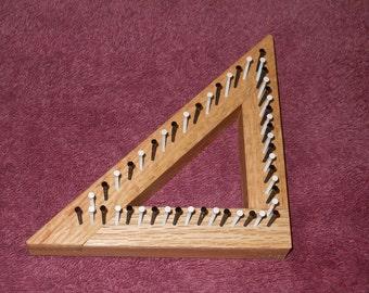 "4"" Triangle Mini Loom"