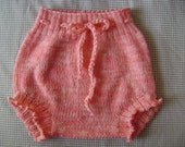 SALE! Wool Soaker- Bubblegum Pink Cloth Diaper Cover- Size X-Large