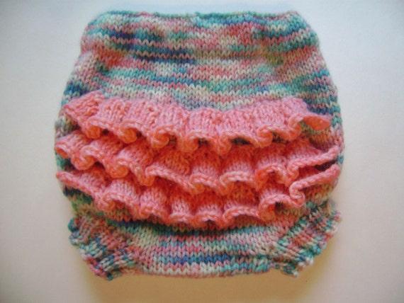 Knit Wool Soaker Pattern : Cutie Bahootie pattern knit wool soaker by daisyheadcreations