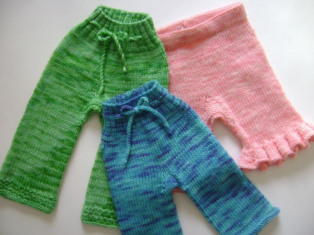 Woolen Knitting Patterns : Wool Soaker Knitting Pattern knit longies and shorties