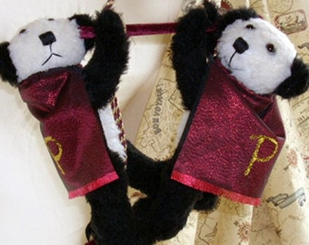 Panda Twins - Pandamonium Brothers - Trapeze Artists