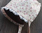 Vintage Inspired Baby Girl Bonnet Primm