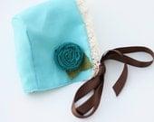 Vintage Inspired Baby Bonnet
