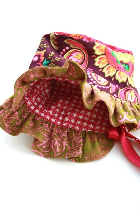 Vintage Inspired Baby Sun Bonnet