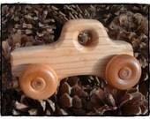 Natural Wooden Truck
