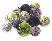 NEW Handmade Spiral Flowers 'Hydrangia'