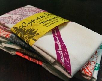 Purple Dragonfly Kitchen Towel