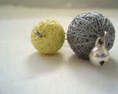 Play with me - Textile art- brooch