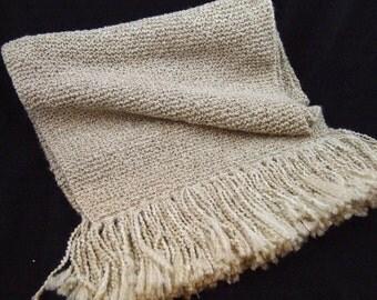 Richly Textured Prayer Shawl / Scarf