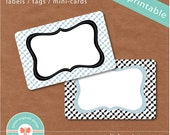 Printable Labels - Tags - Mini-Cards 18