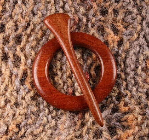 Manzanita Shawl Pin