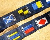 Flag Ribbon novelty trim flags of the world 5/8 inch wide one yard tateam