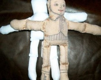 doll body blank pre sewn and stuffed no sew art doll making parts zne you finish sewing supplies unfinished