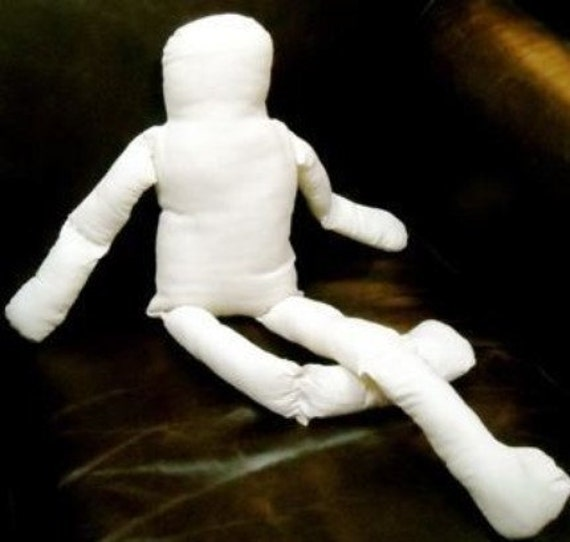Doll body blank Fabric Doll Blank Body Doll Parts large doll body jointed 12 inches ready made