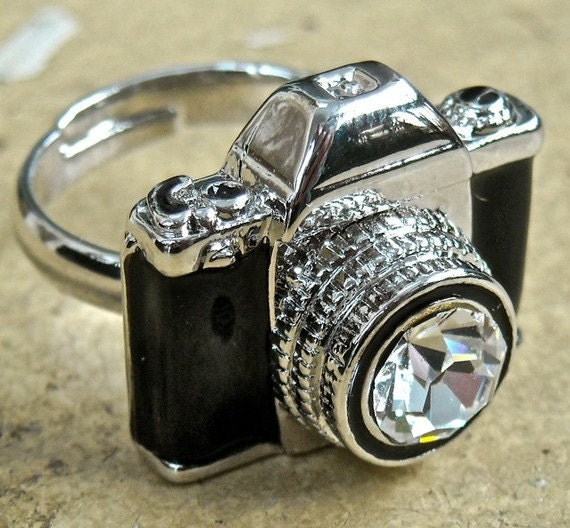 Antiqued Camera adjustable ring