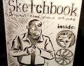 Sketchbook no.1 art-zine