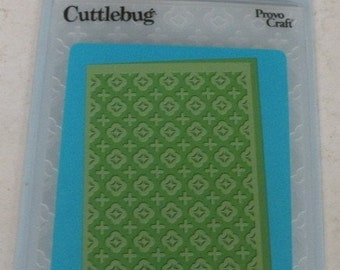 Provo Craft CuttleBug Embossing Folder, Moroccan Screen