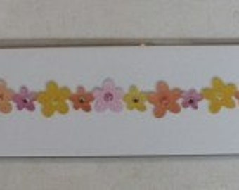 Sizzix Flowers Strip Die