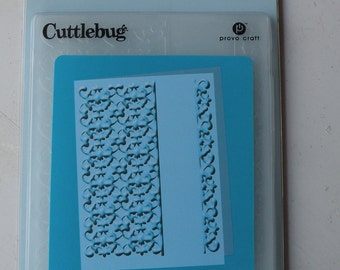 Provo Craft CuttleBug Embossing Folder, Kimberly's Card
