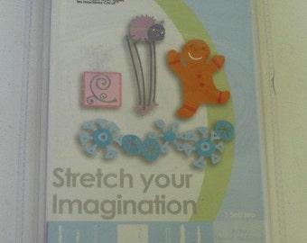 Brand New, Cricut Cartridge, Stretch Your Imagination