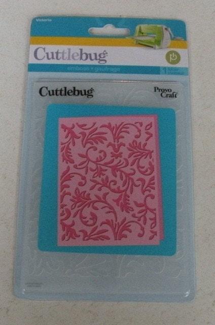 Provo craft cuttlebug embossing folder victoria for Www cuttlebug crafts com