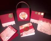 "Tote Bag & Tags - Five 3"" x 3"" tags inside. - Free Shipping inside the U.S."