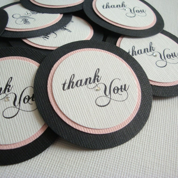 Ready to Ship Favor and Gift Tags -- Set of 25