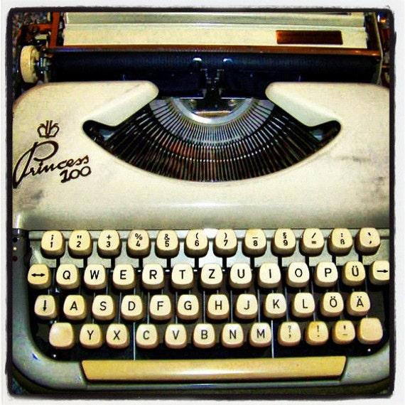 east german typewriter