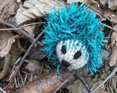 Forest the knitted hedgehog