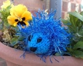 Crystal the hedgehog (blue)