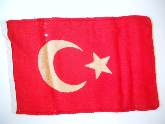 vintage turkish flag