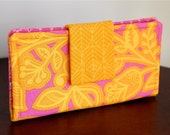 Fun Summer Wallet in Bright Colors - Ladies Wallet