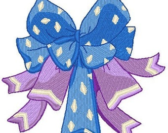 Bows and Ribbons Machine Embroidery Designs