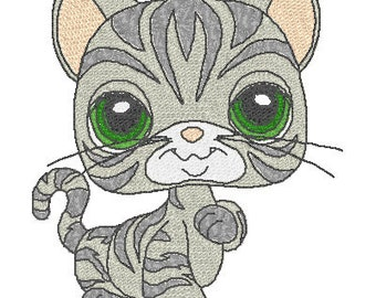 Instant Downloads - Littlest Pet Shop, Machine Embroidery Designs, Dog Embroidery, Cat Designs, (2)