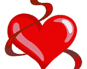 Valentine Hearts, Machine Embroidery Designs, Valentine 's Day, Embroidery Designs, Heart Designs