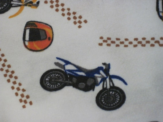 "Reserved. 3 1/4 Yards 64"" Wide Motorcycle Print Knit"