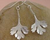 Dangling Cilantro Earrings