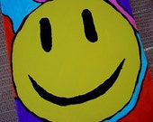 Smiley painting groovy happy fundraiser for kids
