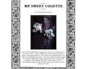 My Sweet Cogette Lace Cuff PDF Knitting Pattern
